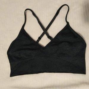 New lululemon dark green sport bra.